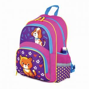 Рюкзак для учениц начальной школы Пес и кот Пифагор
