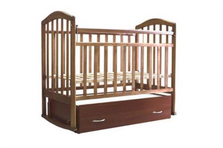 Кровать-качалка  Алита, цвет: орех Антел