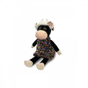 Мягкая игрушка  Коровка Даша в цветном платье 23 см Maxitoys