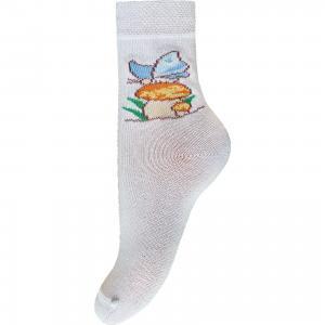Носки для девочки Брестские. Цвет: белый