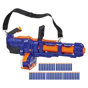 Бластер Nerf Elite Титан Hasbro. Цвет: разноцветный
