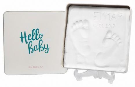 Коробочка для создания детского отпечатка Мэджик бокс квадратная 16.7х16.5 см Baby Art