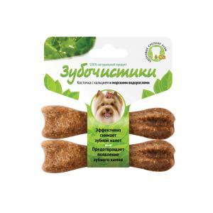 Зубочистики  для взрослых собак мелких пород, со вкусом водорослей, 2*18г Деревенские лакомства