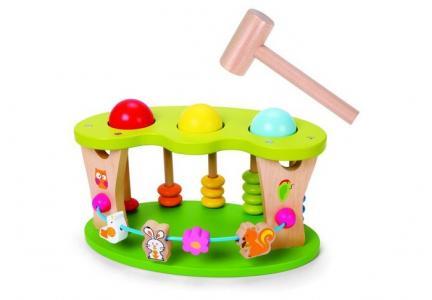Деревянная игрушка  колотушка Цветочная поляна Classic World колотушкаЦветочнаяполяна