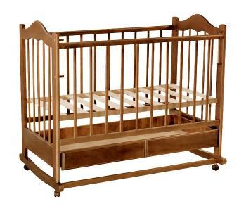 Детская кроватка  Кира №1 качалка Ведрусс