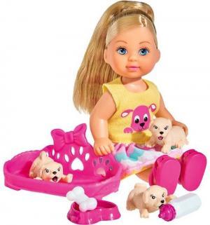 Кукла  Еви с собачками 12 см Smoby