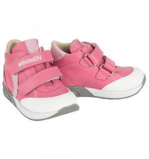 Ботинки , цвет: розовый Minimen