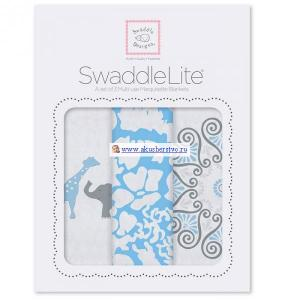 Пеленка  SwaddleLite Lush комплект 3 шт. SwaddleDesigns