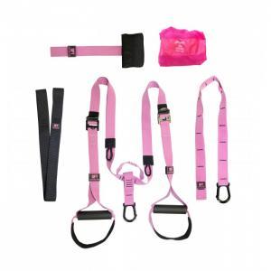 Набор петель для функционального тренинга профессиональный Pink Unicorn Original FitTools