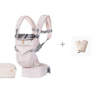 Рюкзак-кенгуру  Omni 360 Cool Air Mesh c накладками На Лямки Natural ErgoBaby