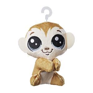 Мягкая игрушка-прилипала Little Pet Shop, Обезьянка Hasbro