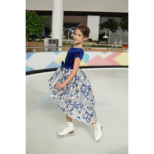 Нарядное платье Unona. Цвет: синий