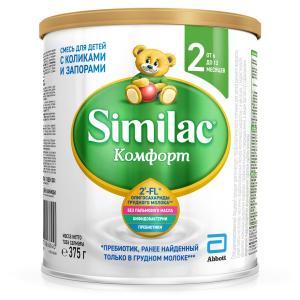Молочная смесь  Comfort 2 с 6 месяцев, 375 г Similac