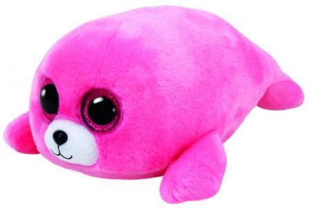 Игрушка Beanie Boos Тюлень Pierre, цвет: розовый TY Inc