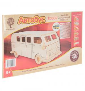 Сборная деревянная модель  Рейсовый автобус Wooden Toys