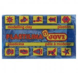 Пластилин  50гр синий Jovi