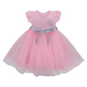 Платье  Все на праздник, цвет: розовый Ярко