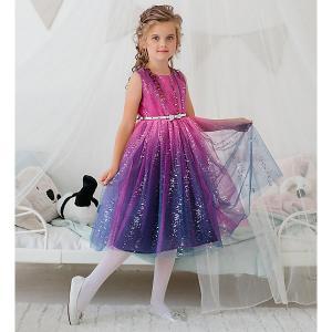 Нарядное платье  Dart Unona. Цвет: розовый