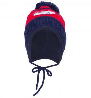 Комплект шапка/шарф  красный Flobaby
