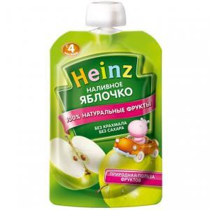 Пюре  яблоко с 4 месяцев, 100 г Heinz