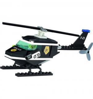 Конструктор  Полицейский вертолёт Brick