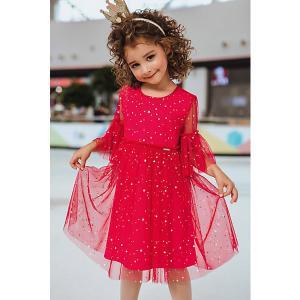 Нарядное платье Unona. Цвет: розовый