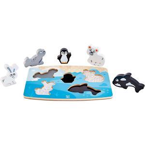 Тактильная головоломка  Арктические животные Hape