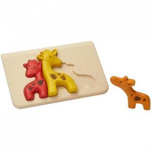 Деревянная игрушка  Пазл Жирафики Plan Toys
