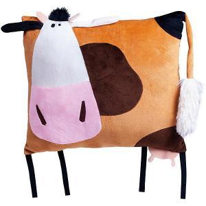 Игрушка мягконабивная  Корова Глаша, 30 см Fancy. Цвет: braun/grau