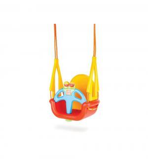 Подвесные качели  Melody Swing, цвет: красный/желтый Pilsan