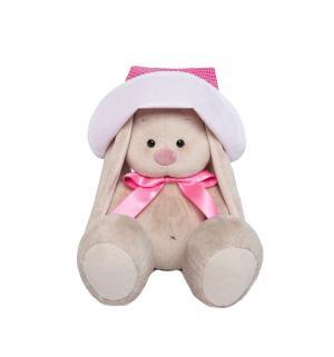 Мягкая игрушка  Зайка Ми в розовой панамке и с бантиком 23 см Budi Basa