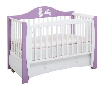 Детская кроватка  Olivia маятник продольный Papaloni
