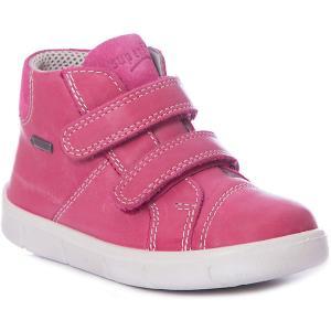 Ботинки Superfit для девочки. Цвет: розовый