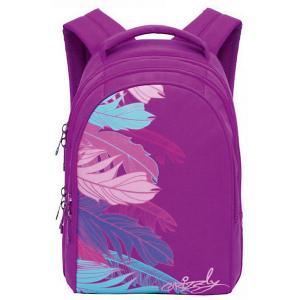 Рюкзак , лиловый Grizzly. Цвет: лиловый