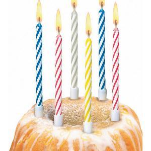 Свечи для торта  Happy Birthday Magic, 10 шт Susy Card