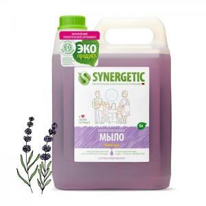 Мыло жидкое Лаванда 5 л Synergetic