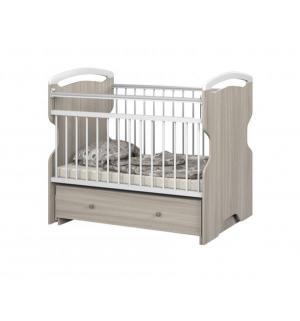 Кровать  Ofelia, цвет: ясень/белый Sweet Baby