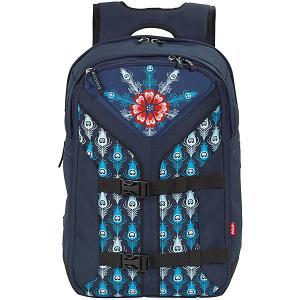 Рюкзак  Boomerang Винтажный павлин 4YOU. Цвет: разноцветный