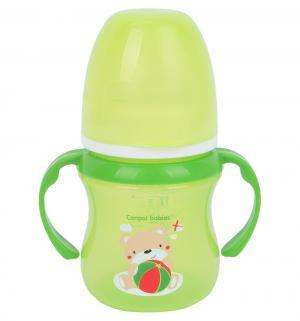 Поильник  Easy Start Colourful Animals с силиконовым носиком, 6 месяцев, цвет: зеленый Canpol