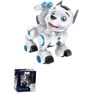 Интерактивный робот-собака Пультовод Дружок Zhorya. Цвет: белый