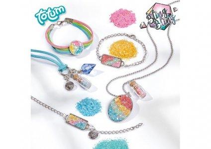 Набор для изготовления украшений Sparkling jewellry Totum