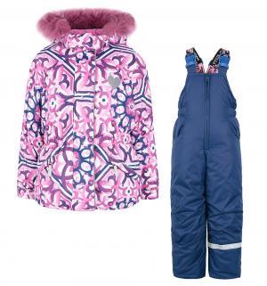 Комплект куртка/полукомбинезон  Майолика, цвет: розовый Stella