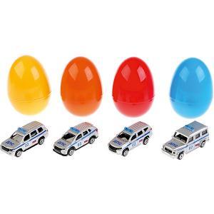 Машинка Технопарк Джип Полиция, в яйце