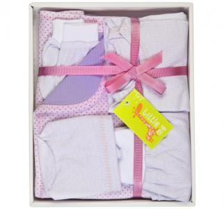 Комплект на выписку  для новорожденного (6 предметов) Little me