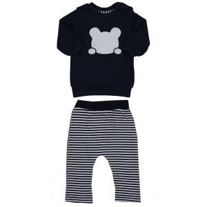 Комплект джемпер/брюки , цвет: синий Kidaxi