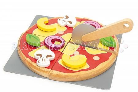Деревянная игрушка  Набор Приготовь свою пиццу LeToyVan