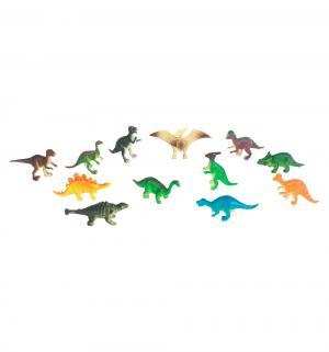 Игровой набор  Диалоги о животных 12 динозавров 6 см Играем Вместе