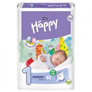Подгузники  Baby Happy Newborn 1 (2-5 кг) шт. Bella