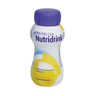 Молочная смесь  для энтерального питания ваниль №1 с 3 лет, 200 г, 1 шт Nutridrink