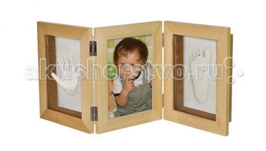 Рамочка 3D тройная складная 51х21 Ручки&Ножки
